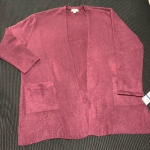 Style & Co over sized Cardigan